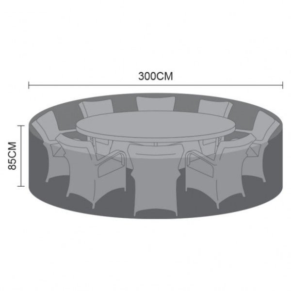 Cover Pack For 8 Seat Round Dining Set Cover
