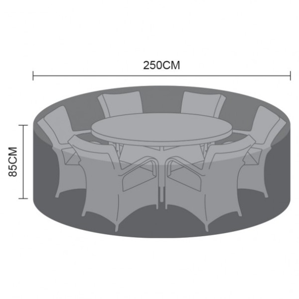 Cover Pack For 6 Seat Round Dining Set