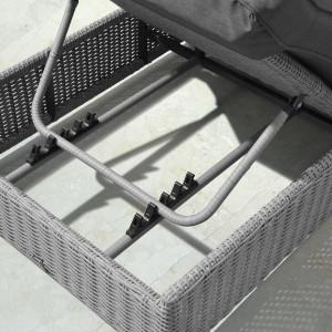Nova - Heritage White Wash Rhodes Sun Lounger Set