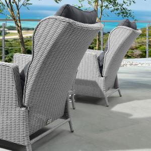 Nova - Heritage White Wash Skylar Lounge Set